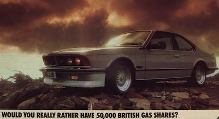 BMW reclame 6 Serie