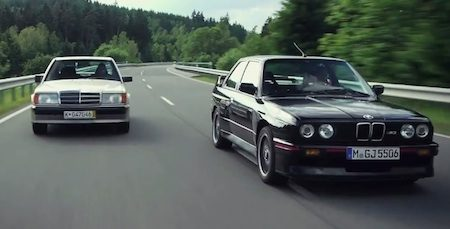 Mercedes 190E vs BMW 3 Serie E30