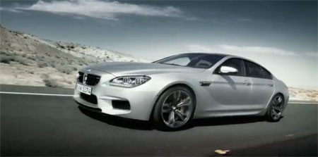BMW M6 Gran Coupe video