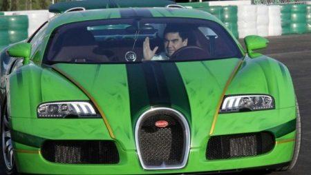 Bugatti Veyron Turkmenistan