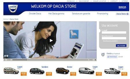 Dacia Online Store