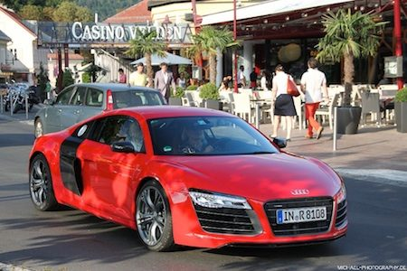 Ferdinand Piech rolt shotgun in R8 Plus