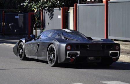 Ferrari F70 spyshots