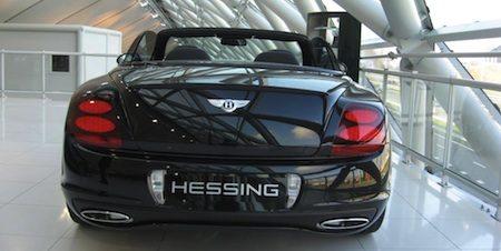 Bentley, in betere Hessing-tijden