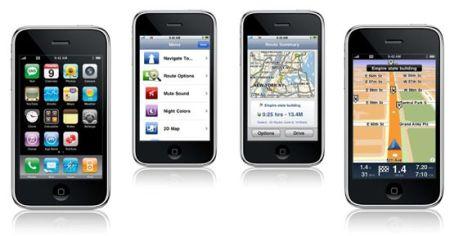 iPhone met TomTom kaarten in iOS6