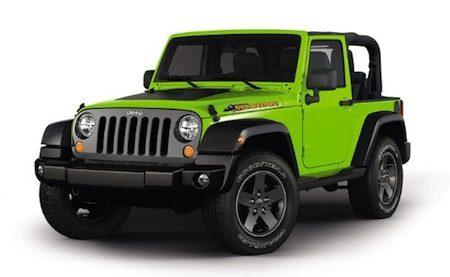 Jeep Wrangler Mountain Edition