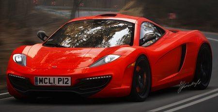 McLaren F1 render