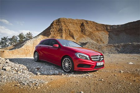 Mercedes A250 rijtest en video