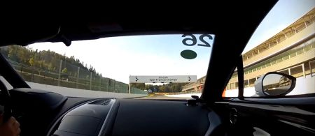 Aston Martin One-77 onboard Spa Francorchamps
