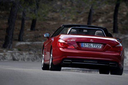 Mercedez Benz on Mercedes Benz Sl500  Rijtest En Video   Autoblog Nl