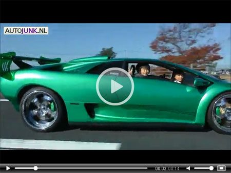 Lamborghini on Video  Lamborghini Diablo Is Een Driezitter   Autoblog Nl