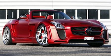 FAB Design meets SLS AMG Roadster