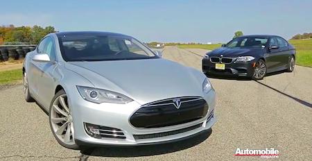 Nieuwkomer Tesla klopt M-icoon van BMW. In your face, @Brantsen