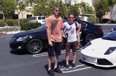 Tony's Lexus LS600h