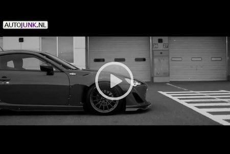 Toyota GT 86 Scion FR-S Rocket Bunny video
