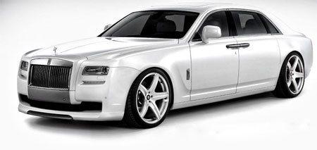 Vorsteiner doet de Rolls Royce Ghost