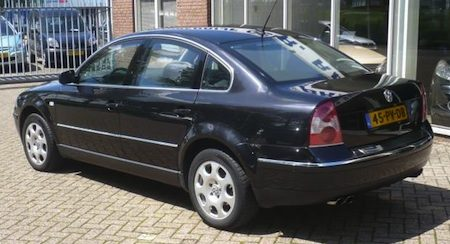 photo of Willem Holleeder Volkswagen Passat 2003 - car