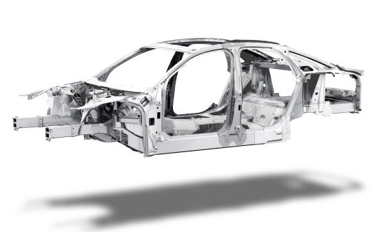 Audi A8 Space Frame