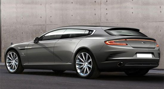 Aston Martin Jet 2+2 Bertone Shooting Brake is nice