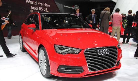 Audi A3 e-tron @ Geneve 2013