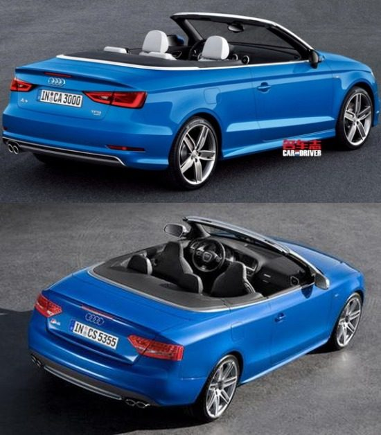 Audi A3 Cabrio Komt Iets Te Vroeg Buiten [gelekt