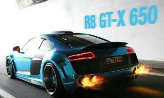Audi R8 GT-X 650 xXx-Performance