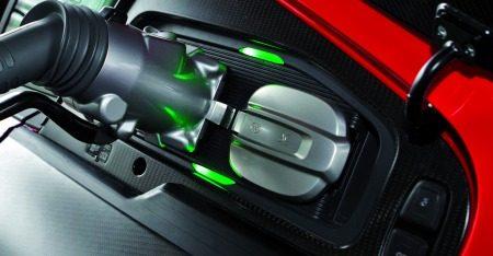 Audi R8 e-tron laadsysteem