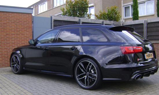 De RS6 van Afrojack