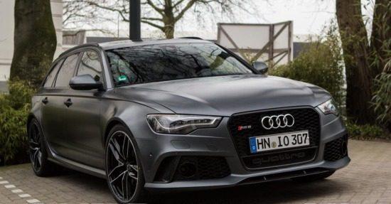 Audi RS6 matgrijs