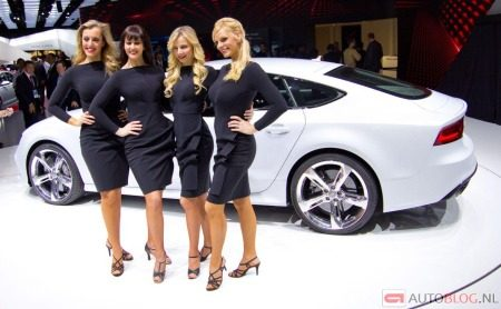 Four girls, one RS7