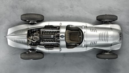 Auto Union Type D twin-supercharger