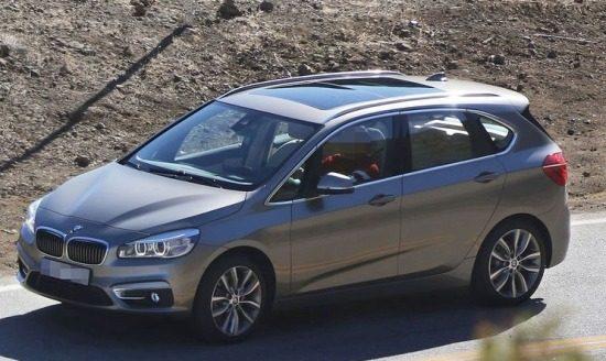 BMW 2 Serie Active Tourer - Foto via Auto, Motor und Sport