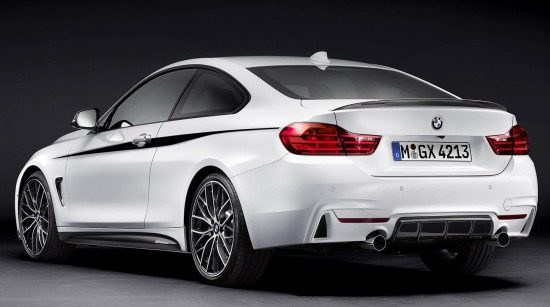 BMW 4 met M Performance-bling