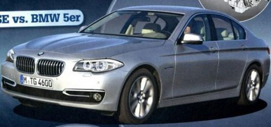 BMW 5 Facelift