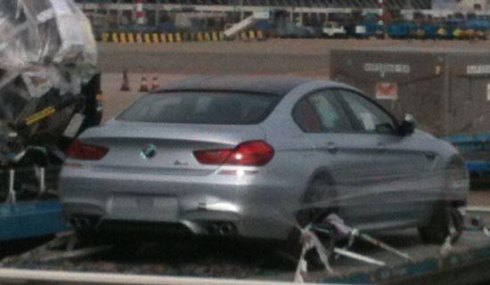 BMW M6 Gran Coupe @ Schiphol
