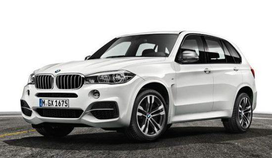 BMW X5 M50d wit