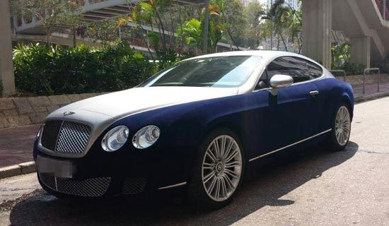 Fluwelen Bentley