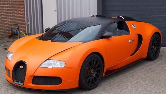 Oranje Veyron is oranje