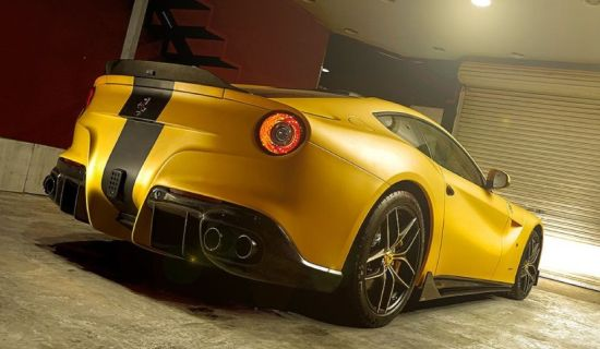 DMC F12berlinetta SPIA Middle East Edition