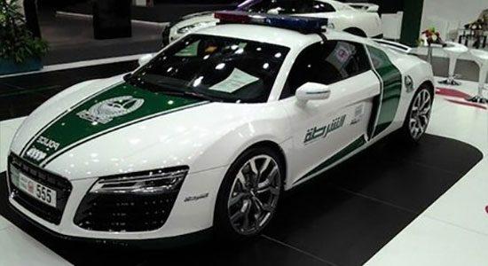 Dubai Police Audi R8