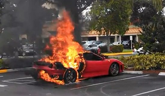 Ferrari F430 is een hele dure pizza-oven