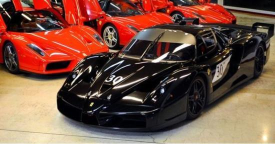 Ferrari FXX van Schumacher