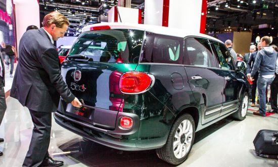 Fiat 500L Living @ IAA 2013