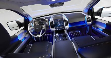 Ford Atlas Concept interieur