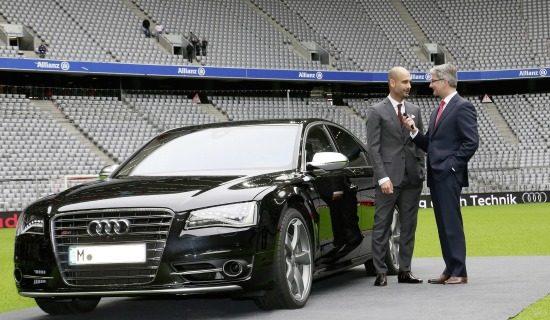 Pep Guardiola Audi S8