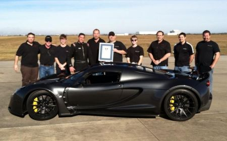 Hennessey Venom GT Guinness World Record