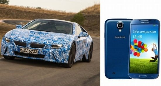 BMW i8 vs Smartphone