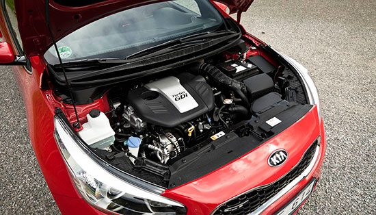 Kia pro_cee'd GT: Turbo GDi blok is lekker soepel