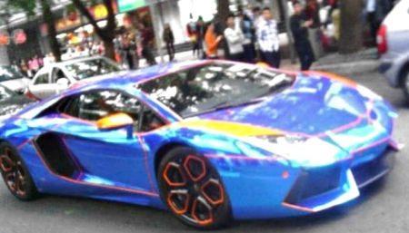 Lamborghini Aventador = Lelijk