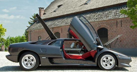 Lamborghini Diablo fotoshoot